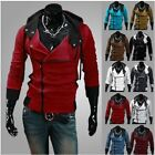 Hot New Fashion 2014 Casual Mens Slim Fit Hoodie Coat Jacket Sweats Multi Color