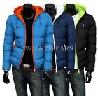2014 Winter Mens Warm Wadded Coat Jackets Thickening Hooded Slim Outerwear IND