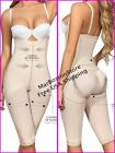 Capri Body Shaper braless, Size reducer Butt Lifter Moldeate 1049, Nude