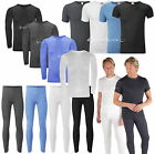 Mens Thermal Underwear Long John T Shirt Top & Pants Set Baselayer S M L XL 2XL