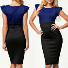Fashion Womens Wear To Work Bandage Bodycon Cocktail Party Evening Pencil Dress