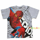 BNWT Spiderman Spider Man Summer Boy Tee T-shirt Top Size 2,4,6,8,10