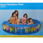 Inflatable Family Adult Toddler Kids Children Giant Rainbow Swimming Pool/Outdoo