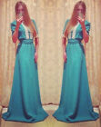 Womens Ladies Celeb Evening Wedding Bridesmaid Prom Maxi Long Dress