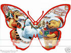 TIGGER & POOH Butterflies 25 x Edible Decorations Cup Cake Toppers CHRISTMAS