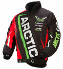 ARCTIC CAT Youth Black / Green / Orange ON-TRACK Snowmobile Jacket, 5241-34_