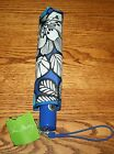 NWT Vera Bradley UMBRELLA Compact One Touch Automatic Open Folding