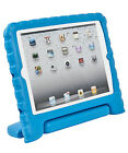 Blue Heavy Duty Foam Case Cover with Handle for iPad i Pad Mini 1st 2nd Gen