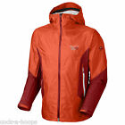 NEW Mountain Hardwear TUNNABORA Men's Shell Climbing Jacket w/ Hood Orange - M
