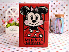 Disney Cartoon Cover Leather Stand Cover Case For iPad 2/3/4/5/6 Air/2 Mini1/2/3