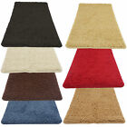 Machine Washable Shaggy Rugs in Stain-Free Non Slip Bedroom Bathroom Mat
