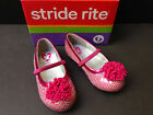 GIRLS 7.5 or 10 M STRIDE RITE Kenleigh Style Pink Dressy Shoes Free US Ship