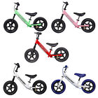 Kids Balance Bike with Brake First Boys and Girls Children's Training Bicycle