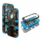 Hybrid Tuff Duck Blind Kamo  For Apple iPhone 5 Case Cover Snap on Protector