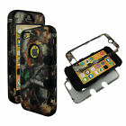 Hybrid Tuff Duck Blind Kamo For Apple iPhone 5  Case Cover Snap on Protector FA