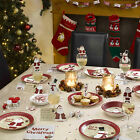 Neviti Christmas Party Tableware. Plates Cups Napkins, etc All In One Listing!