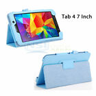 "Folio Case Smart Cover For Samsung Galaxy Tab 4 7"" 8"" 10.1"" Tab S 8.4"" T230 T330"