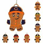 NFL  Resin Hanging Gingerbread Man Ornament (Pick Your Team)