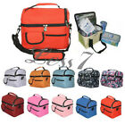 Outdoor Travel Camping Picnic Lunch Bag Unisex Ice Bags Various Colors J