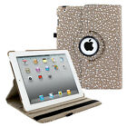 360 Rotating Leather Folio Case Cover Stand For Apple iPad 2 3 4 5 Air Mini Pro