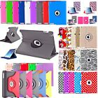 360 Rotating PU Leather Folio Case Cover Stand For Apple iPad Mini 2 3 4 Air Pro