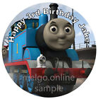 Edible Thomas the Tank Engine  Cake Topper, Real Icing CakeTopper, Thomas Party