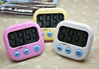 Digital Kitchen Cooking Large LCD Timer Count Down Up Clock Loud Alarm Magnetic