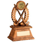 Hockey Award  - Free Engraving - Resin Hockey Sticks Trophy