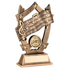 Music Award  - Free Engraving Musical notes School Trophy
