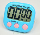 Digital Large LCD Kitchen Cooking Timer Count Down Up Clock Loud Alarm Magnetic
