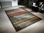 Florenza 90X Machine Woven Multicoloured Rug in various sizes and runner