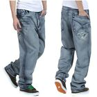 Hip-Hop Mens Jeans Pants Ecko Baggy Loose Denim Streetwear Trousers HipHop #JP27