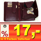 Leather Purse With Viennese Case Tresor & Secret Compartment in 9 Colors