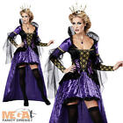 Deluxe Wicked Queen Ladies Fancy Dress Snow White Fairytale Halloween Costume