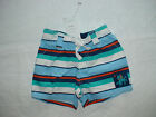 NWT GYMBOREE OCTOPUS HUGS BLUE ORANGE WHITE STRIPED SHORTS LAYETTE