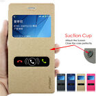 PU Leather Stand Case Flip Cover + Screen Protector for Sony Xperia Phone