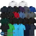 Mens Piping Polo Shirt Team Sports Contrast Top Breathable Size S-5XL 7PIP