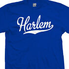 Harlem Script Tail T-Shirt - All Star Sports Team Jersey Tee - All Size & Colors image
