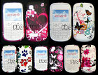 Butterfly, Dog Footprint Tulip Flower Silicone Gel Case For Nokia Asha N200 /201