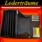 Trucker Wallet Waitress Purse Taxi Driver With 6 Note Compartments Leather /