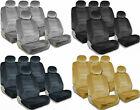 PREMIUM Full Set Seat Covers Airbag Safe 8mm Quality Double Stitched Fabric 2I