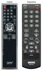 Original Funai NF015UD TV Replacement Remote Control by Anderic