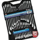 Combination Spanner Set in Metric & AF with Stubby Spanners. 32pc