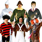 World Book Day Week Adults Fancy Dress Fairytale Mens Costume Outfit Character