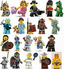 LEGO MINIFIGURES SERIES 1,3,4,5,6,7,8,13,14,16,17 & BATMAN & NINJAGO MOVIES.