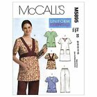 McCalls 5895 Tunic Top Dress Pants Trousers XS - Plus Size Sewing Pattern M5895