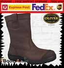 New Oliver Mens Work Safety Boot Riggers Mining Steel Toe Pull On Leather 34692