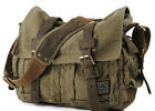 Men's Fashion Casual Retro Canvas Hiking Shoulder Messenger Bag Satchel BJF029