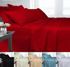 100% Egyptian Cotton 250 Thread Count Duvet Cover set Single Double King Super