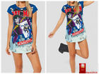2015 Hot Summer Joker's Revenge GFT The BATMAN Collection Woman Cartoon T shirts